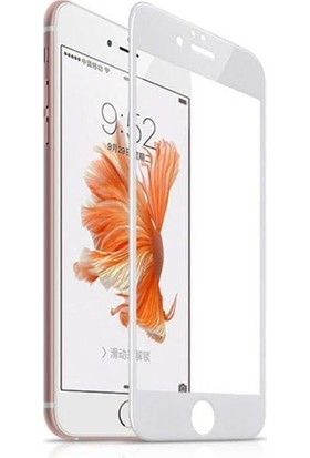 Protech Apple iPhone 7 Plus Tam Kaplayan Temperli Ekran Koruyucu Beyaz