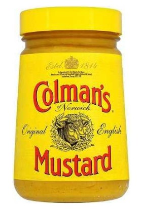 Colman's English Mustard Ithal Hardal Cam Kavanoz 170 Gram Colmans