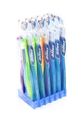 Difaş Konfor Beyaz Orta Diş Fırçası