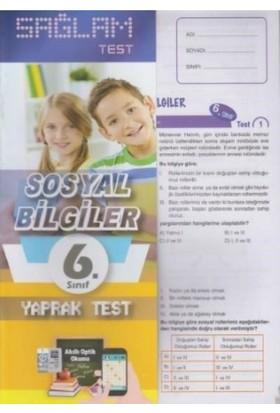 Molekül 6. Sınıf Sosyal Bilgiler Sağlam Yaprak Test Poşetliyeni