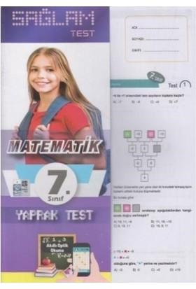 Molekül 7. Sınıf Matematik Sağlam Yaprak Test Poşetliyeni
