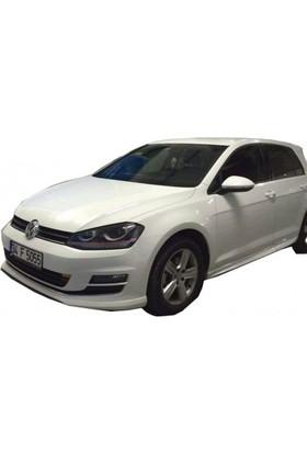 BTG Volkswagen Golf 7 2012 - 2017 Aerodinamik Yan Marşpiyel Seti