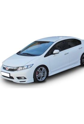 BTG Honda Civic Fb7 2012 - 2015 Custom Yan Marşpiyel Seti