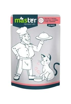 Master Dana Etli Kedi Maması 80 g x 24 Adet