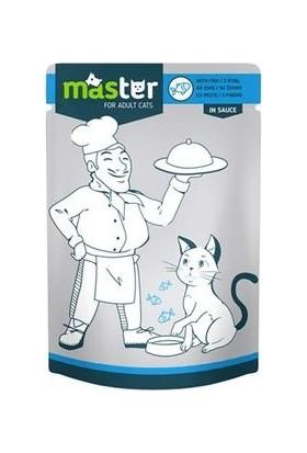 Master Balıklı Kedi Maması 80 g x 24 Adet