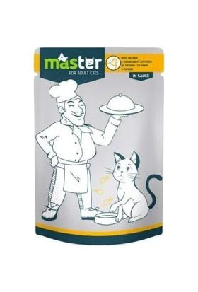 Master Tavuk Etli Kedi Maması 80 g x 24 Adet