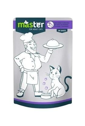 Master Tavşan Etli Kedi Maması 80 g x 24 Adet