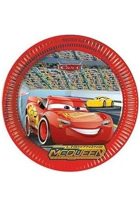 Balonevi Cars 3 Kağıt Tabak 23 cm