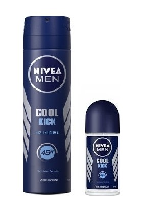 Nivea Coolkick Ikili Set (Deodorant + Roll On)