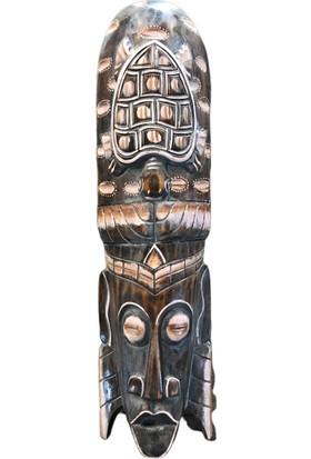 Alpin Ahşap Afrikalı Mask Afrikalı Mask Ahşap Duvar Süsü
