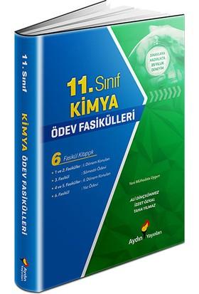 Aydın Yayınları 11.Sınıf Kimya Ödev Fasikülleri