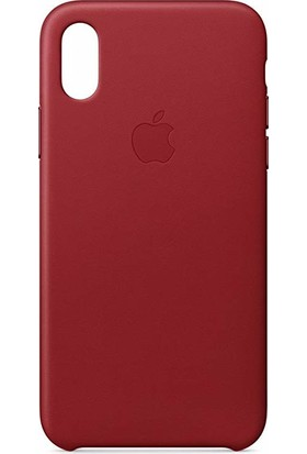 Gezegenaksesuar Apple iPhone X / XS Lansman Kılıf - Bordo