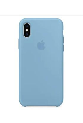 Gezegenaksesuar Apple iPhone X / XS Lansman Kılıf - Mavi