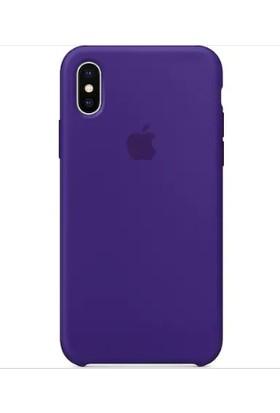 Gezegenaksesuar Apple iPhone XS Max Lansman Kılıf - Mor