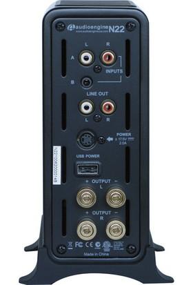 Audioengine N22 Masaüstü Amplifikatörü Siyah