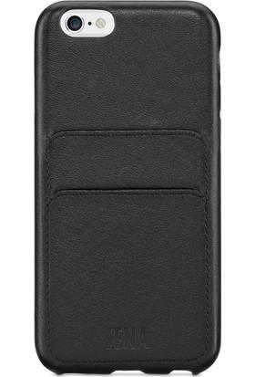 Sena Apple iPhone 6 / 7 Deri Kapak Kılıf - Siyah