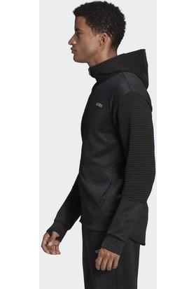 adidas Erkek Günlük Ceket EI5599 Siyah M Gear Up Fleece