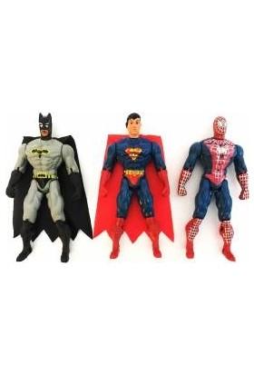 Özene Bezene Spiderman, Batman, Superman Işıklı Kahramanlar