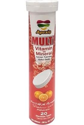 Apexis Multivitamin Efervesan 20 Tablet