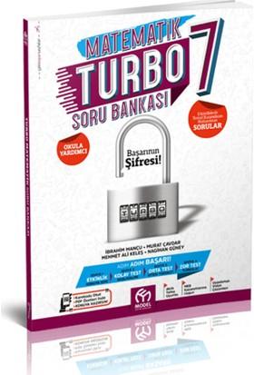 Model Eğitim Yayıncılık Matematik Turbo 7. Sınıf Soru Bankası