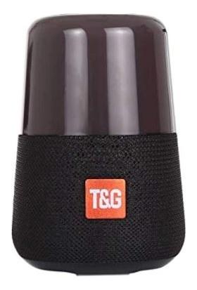 T&G Led Flashıng Işıklı Hoparlör - Siyah