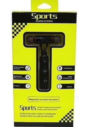 Sports Mıknatıslı Mikrofonlu Bluetooth Kulaklık
