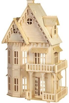 Ahşap Toys Ahşap Gotik Bebek Evi