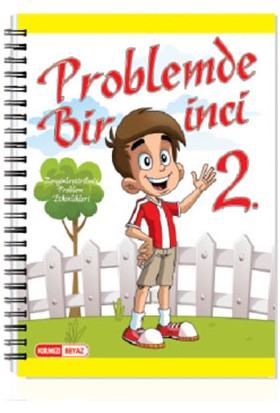 Kırmızı Beyaz Yayınlar 2.Sınıf Problemde Bir Inci