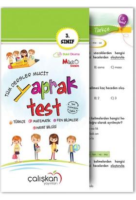 Çalışkan Yayınları 3.Sınıf Tüm Dersler Mucit Yaprak Test