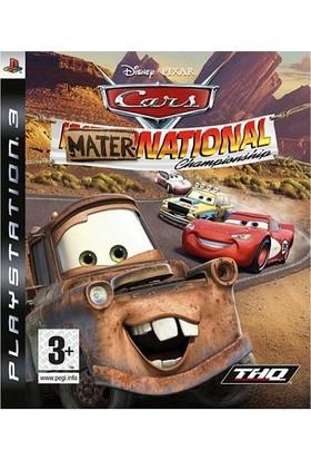 Cars Mater National Championship PS3 Oyun