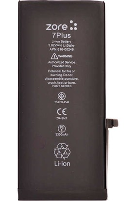 Zore Vogy Apple iPhone 7 Plus Batarya 3330mAh IP7PVGY