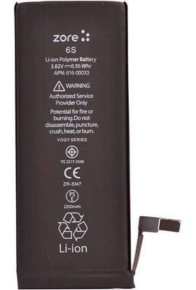 Zore Vogy Apple iPhone 6s Batarya 2200mAh IP6SVGY