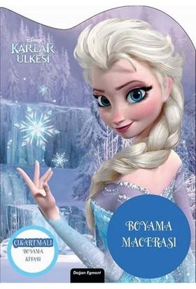 Doğan Egmont Yayıncılık Disney Karlar Ülkesi Özel Kesimli Boyama Macerası