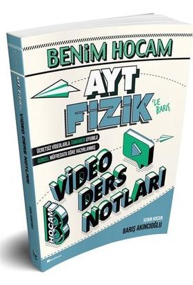 Benim Hocam Yayınları 2020 Ayt Fizik Video Ders Notları - Barış Akıncıoğlu