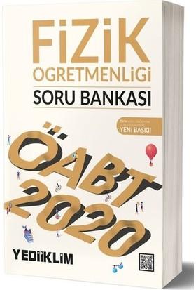 Yediiklim Yayınları 2020 KPSS ÖABT Fizik Öğretmenliği Soru Bankası