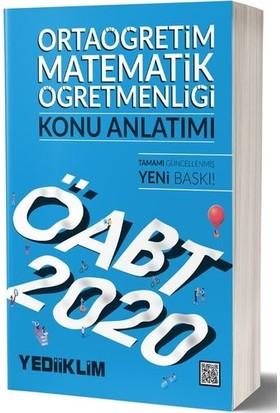 Yediiklim Yayınları 2020 KPSS ÖABT Ortaöğretim Matematik Öğretmenliği Konu Anlatımı