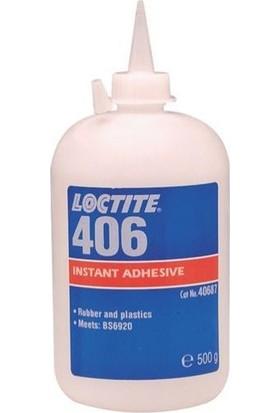 Loctite 406 Plastik Kauçuk Hızlı Yapıştırıcı 500 gr