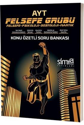 Simya Yayınları 12.Sınıf Felsefe-Psikoloji-Sosyoloji-Mantık (Ayt) Konu Özetli Soru Bankası