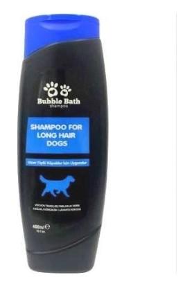 Bubble Bath Uzun Tüylü Köpekler İçin Lavanta Kokulu Şampuanı 400 ml