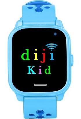 Dijikid Akıllı Çocuk Saati - Mavi