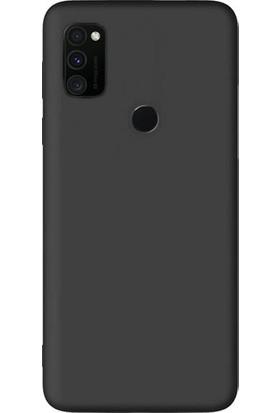 Kaltel Gsm Samsung Galaxy M30s Mat Premier Silikon Kılıf - Siyah