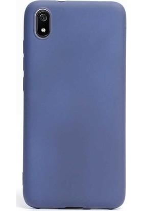 Kaltel Gsm Xiaomi Redmi 7A Mat Premier Silikon Kılıf - Mavi