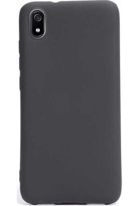 Kaltel Gsm Xiaomi Redmi 7A Mat Premier Silikon Kılıf - Siyah