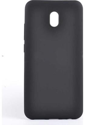 Kaltel Gsm Xiaomi Redmi 8A Mat Premier Silikon Kılıf - Siyah