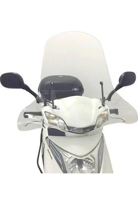 Monero Honda Spacy Alpha Ön Siperlik Camı (El Korumalıklı)