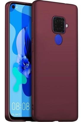 Ehr. Huawei Mate 30 Lite Soft TPU Priming Kılıf Mürdüm