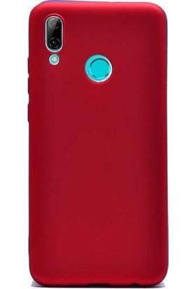 Ehr. Meizu Note 9 Soft TPU Priming Kılıf Kırmızı