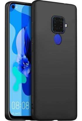 Ehr. Huawei Nova 5i Pro Soft TPU Priming Kılıf + Nano Ekran Koruyucu Siyah