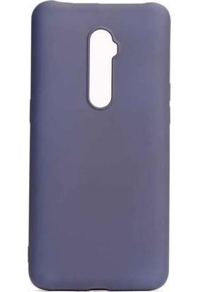 Ehr. Oppo A9 2020 Soft TPU Priming Kılıf + Nano Ekran Koruyucu Lacivert