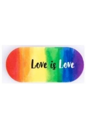 Funsylab Kamera Kapatıcı Love Is Love Gökkuşağı